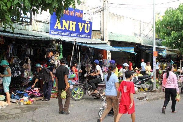 Bán đất Đường DJ9 Mỹ Phước 3 Bình Dương Giá rẻ.