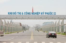Bán lô L53 hướng Bắc ngay cổng chính KĐT Mỹ Phước 3 BD.