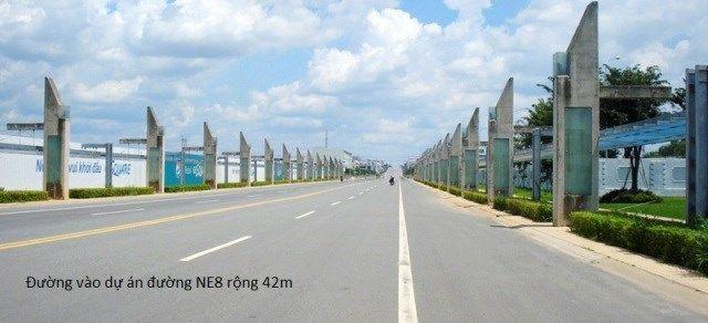 Bán lô L61 hướng Bắc hướng Nam đ/d siêu thị GS Mỹ Phước 3.